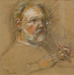 Auto-portrait de Jacques Perrodin